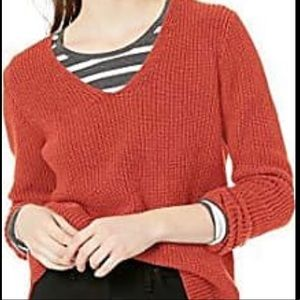 J crew super soft v-neck sweater